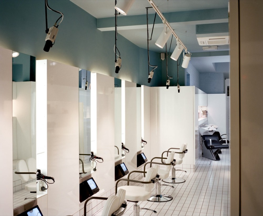 Hair salon design ideas kids art decorating ideas for Hair salons designs ideas