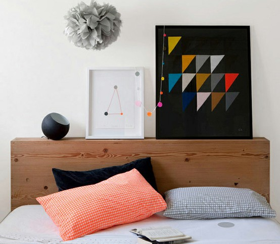 Suffering from night rage distracted by design for Wooden bed head designs