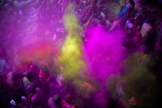 Hindu+Devotees+Celebrate+Holi+Festival+India+6mcZe2zYYGql