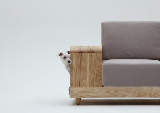 designer dog sofa