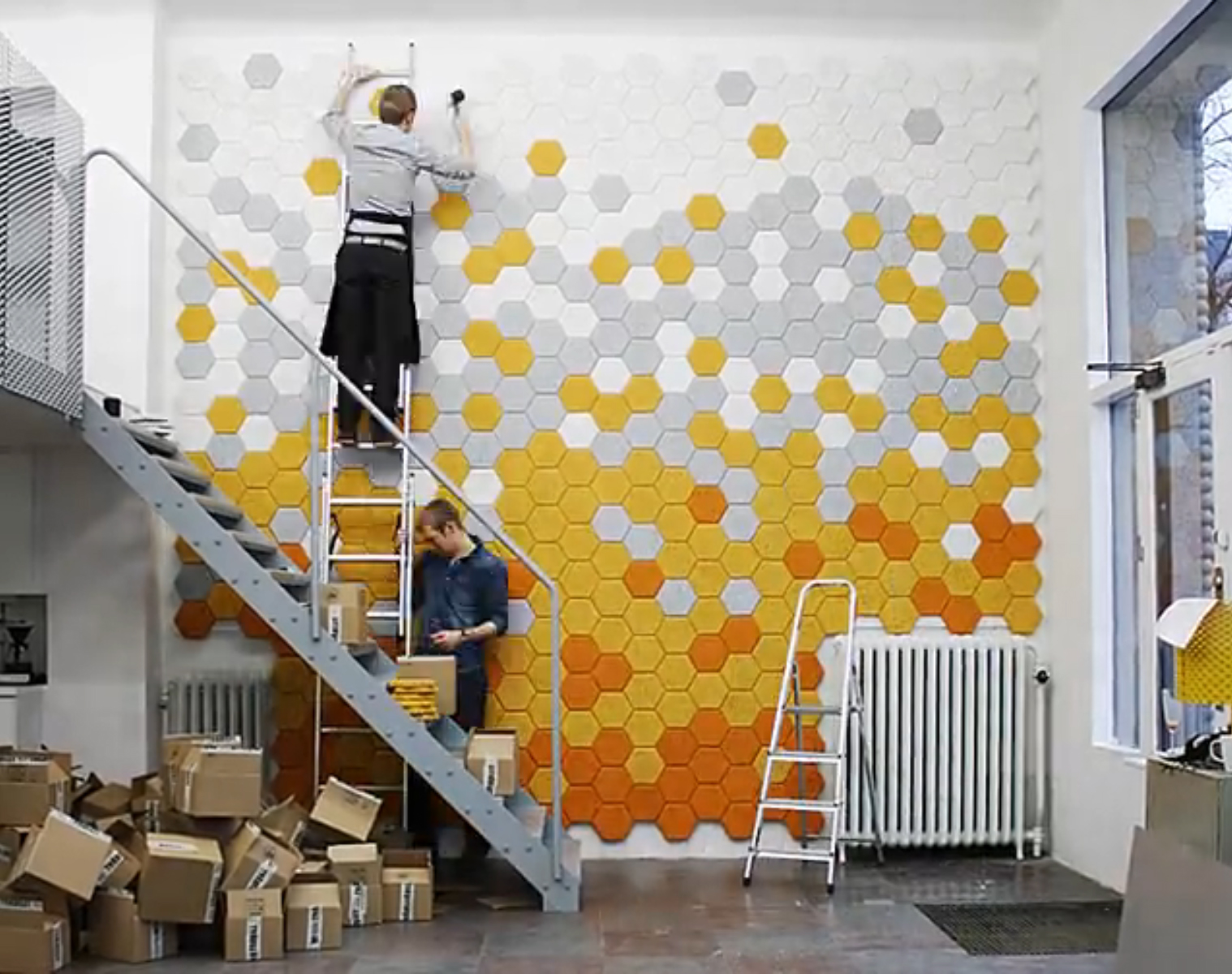 Acoustic Panels Distracted By Design