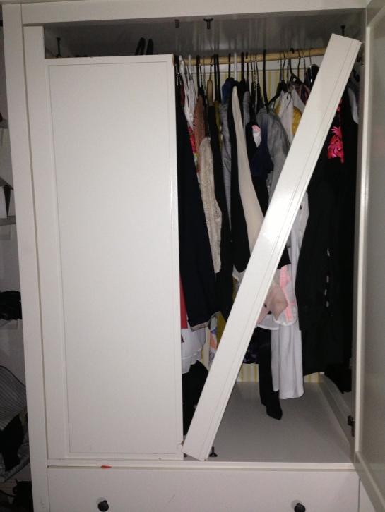 wardrobe broken